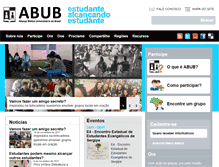 Tablet Preview of abub.org.br